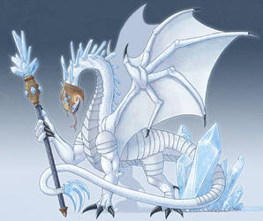 Ice Dragon Commission
