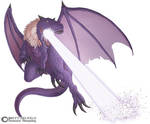 Purple Dino Dragon