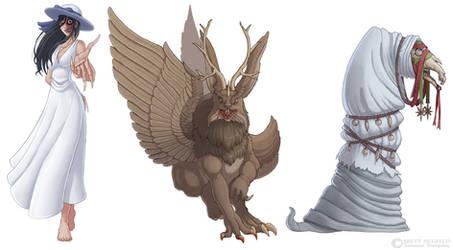 Mythos - Hachishaku, Wolpertinger, Mari Lwyd