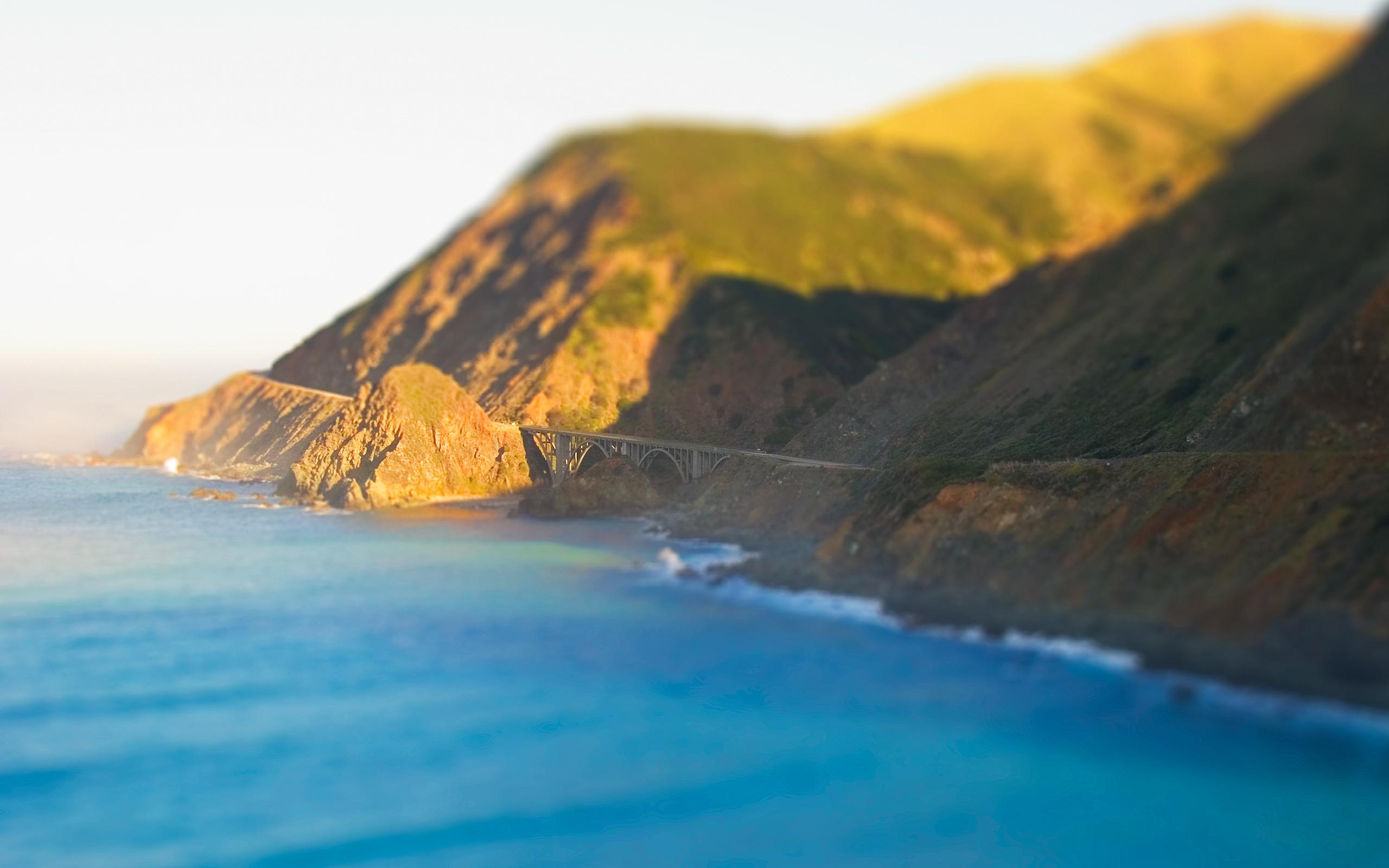 Tiny Bridge over Big Sur by tch
