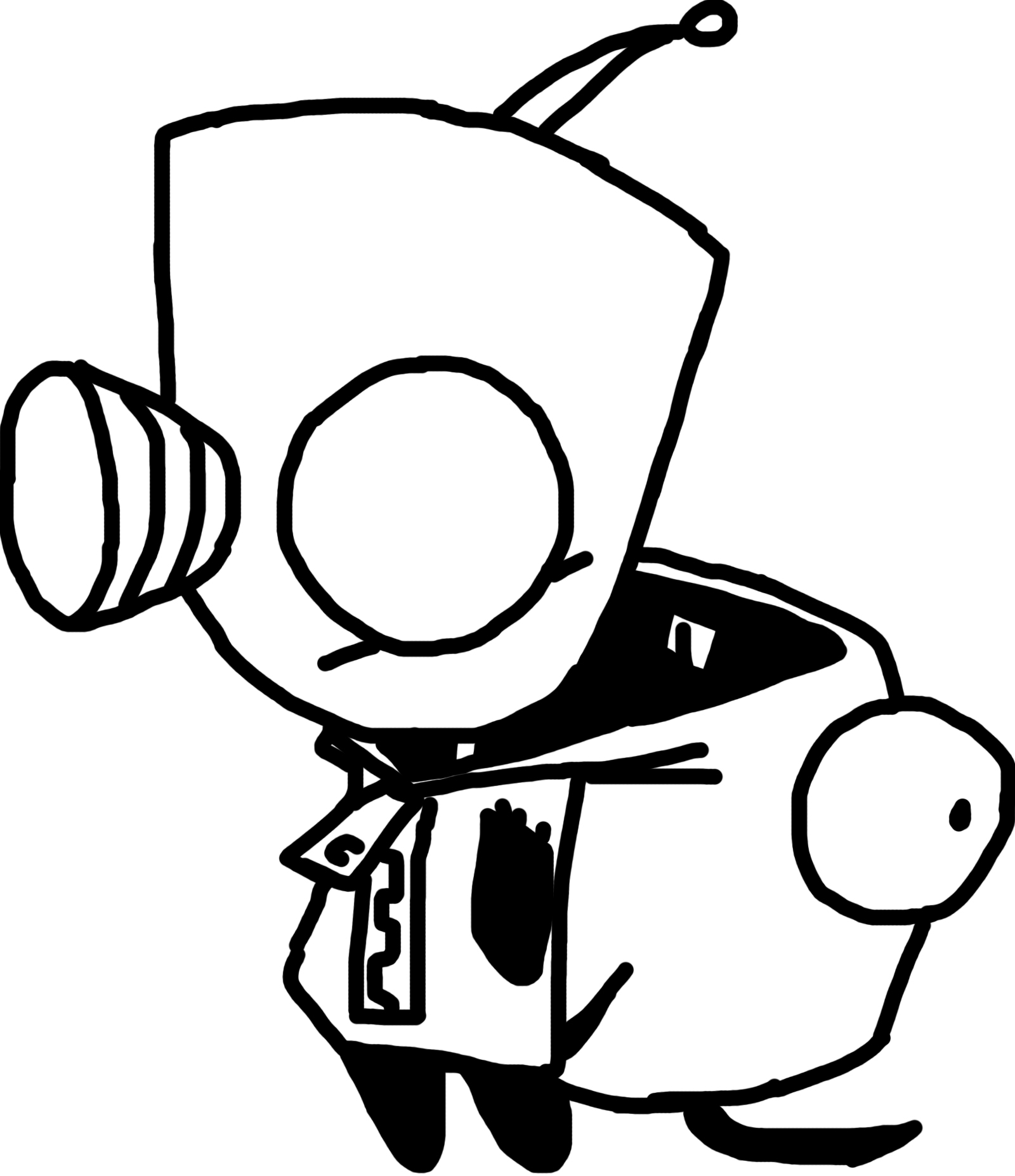 coloring pages of gir - photo#28