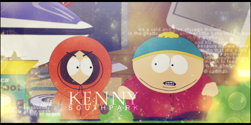 Cartman's friendly song for Kenny by mirzakS