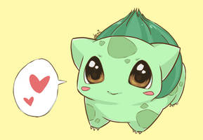 Bulbasaur by demidemi