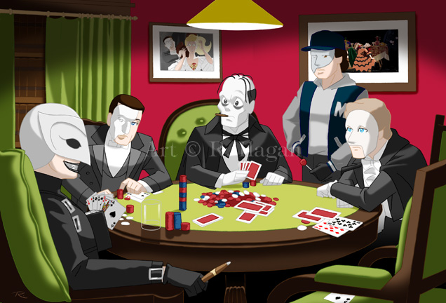 Phantoms Playing Poker V2.0 by Raphael2054