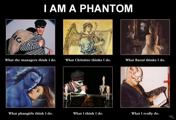 'I Am A' Meme: Phantom by Raphael2054