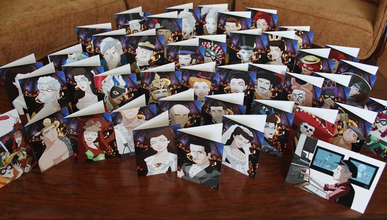 Phantom Las Vegas Finale Cards by Raphael2054