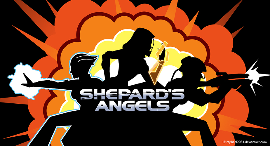 Shepard's Angels by Raphael2054