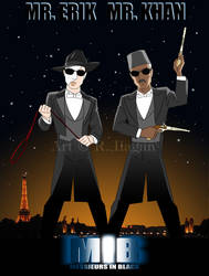 Messieurs in Black by Raphael2054