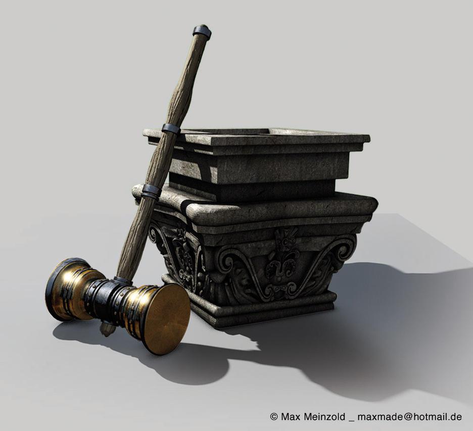 dwarf hammer by MaxMade on deviantART