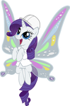 Rarity with wings