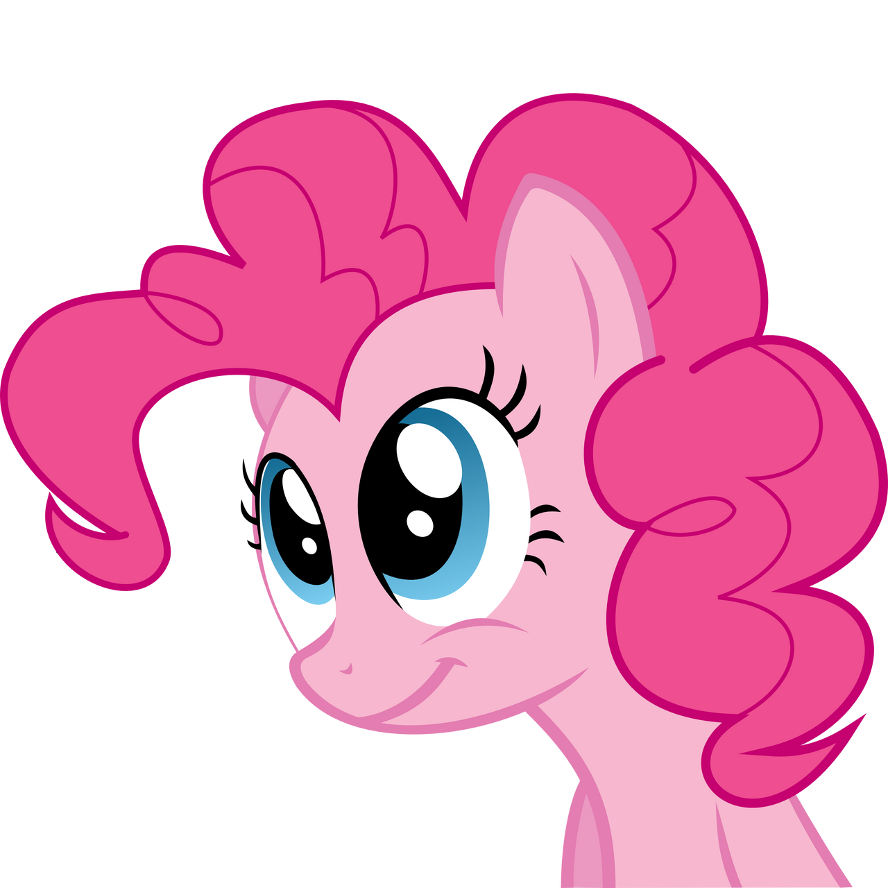 Pinkie Pie Smile by hokutto on DeviantArt