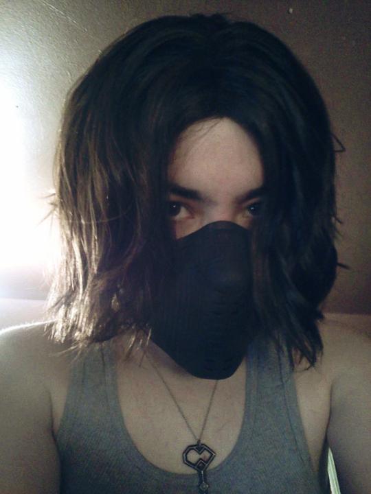 Bucky wig test. by XxEmoSasukexX