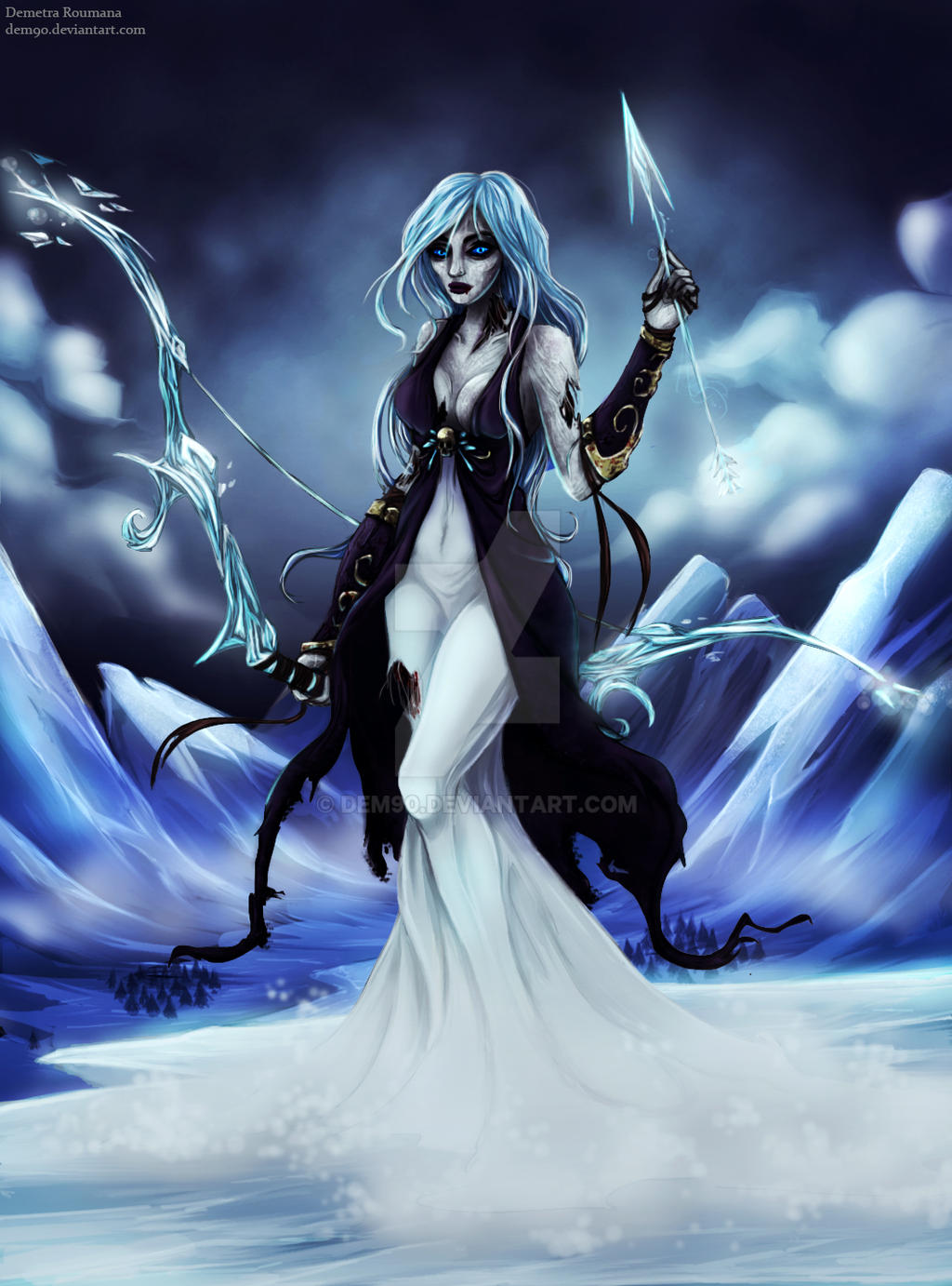 White walker Ashe by Dem90 on DeviantArt