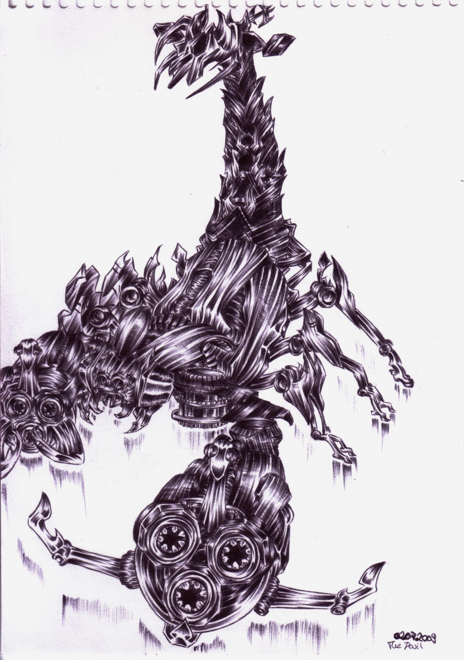 Movie Scorponok by Aku-kun