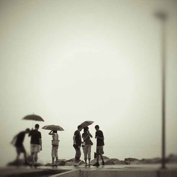 talking umbrellas by JoannaRzeznikowska