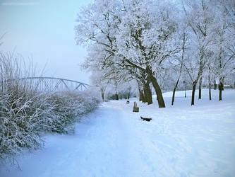 City Of Winter V by JoannaRzeznikowska
