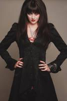 80s rock vampire by AshleyShyD
