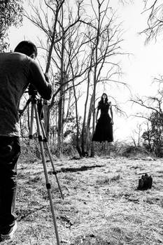 Behind the Scenes - A witch in the making