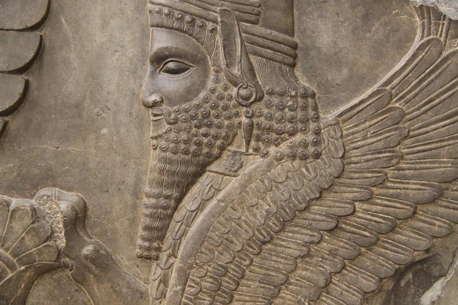 Ahura Mazda - Iran Bastan by farhadasl on DeviantArt