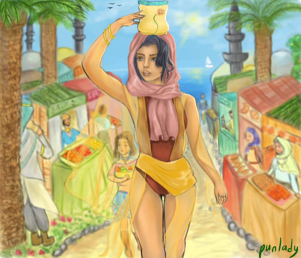 Middle Eastern Fair by punlady