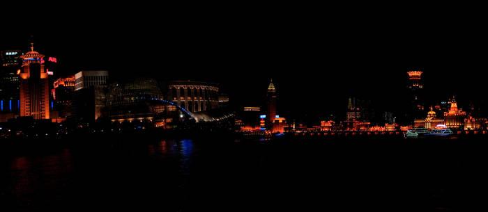 Shangai lights HDR