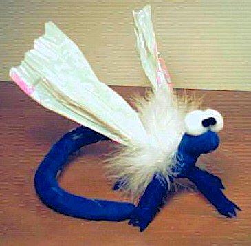 Blue Dragonfly by stephanielynn