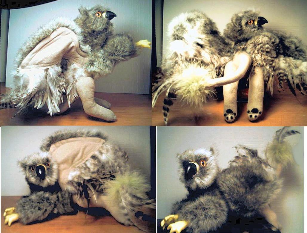Griffin Plush by stephanielynn