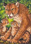 Cougar Totem Card Final