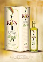 Kun Oliveoil Packaging by byZED