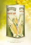 Sofia CornOil Packaging by byZED