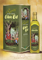 Rarity Oliveoil Packaging 2 by byZED