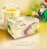 Packaging for Herbal Tea by byZED