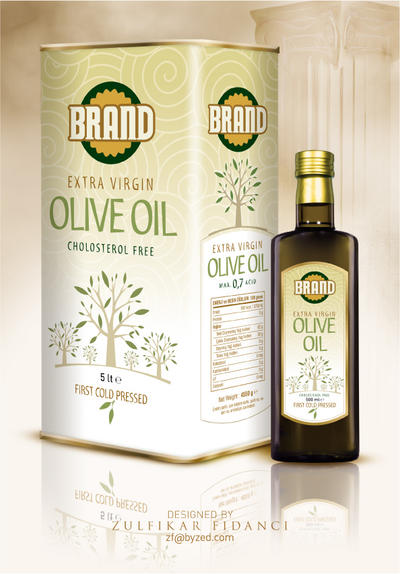 YB1908081 Olive Oil Packaging by byZED
