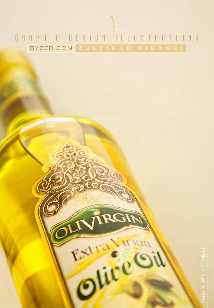 Olive Oil Label Design II