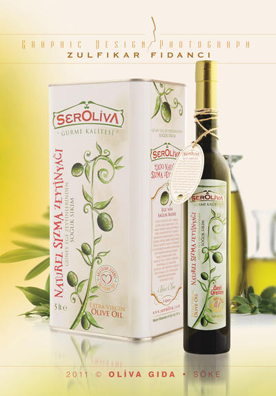 Seroliva Oliveoil Label and Package by byZED