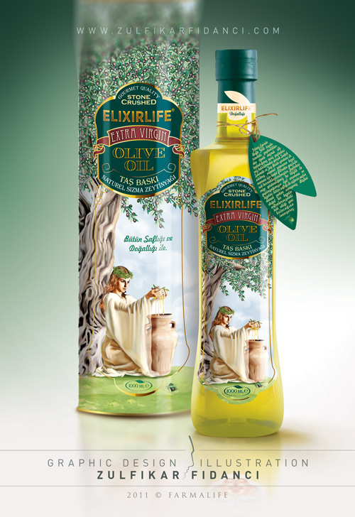 Elixirlife Olive Oil Design by byZED