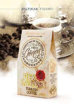 Turkish Coffee Packaging Design