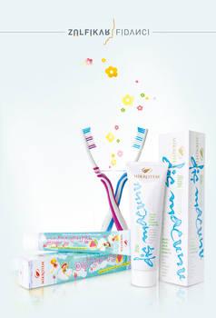Tooth Paste Packaging Designs
