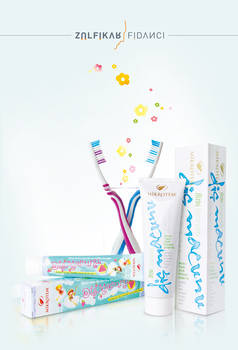 Tooth Paste Packaging Designs