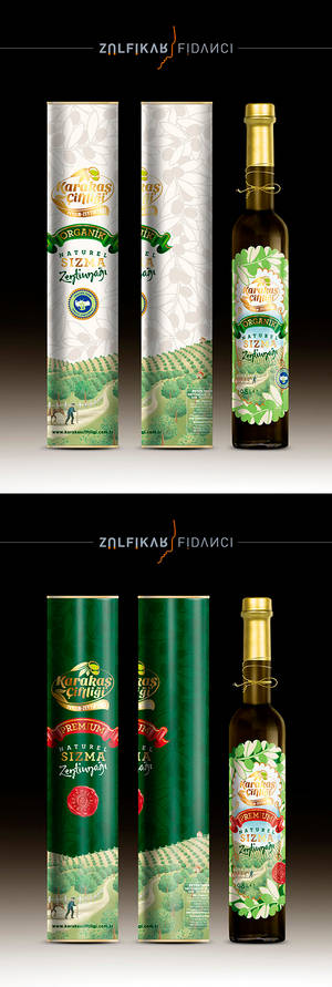 Olive Oil Packaging