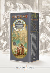 Aeneas Olive Oil Packaging Design by byZED