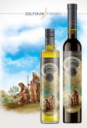 Label design for Aeneas Olive Oil