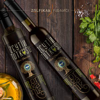 Oliveoil label design for Zeytin Tutkusu
