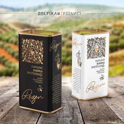 Oliveoil Packaging design for Rezen