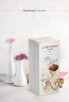 Eau de Cologne Packaging Design for Labarba