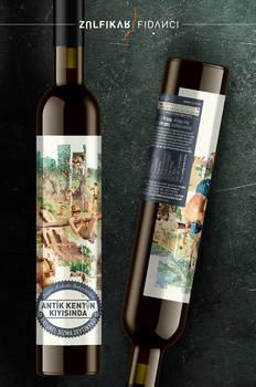 Packaging design for Olive oil of Antik Kentin