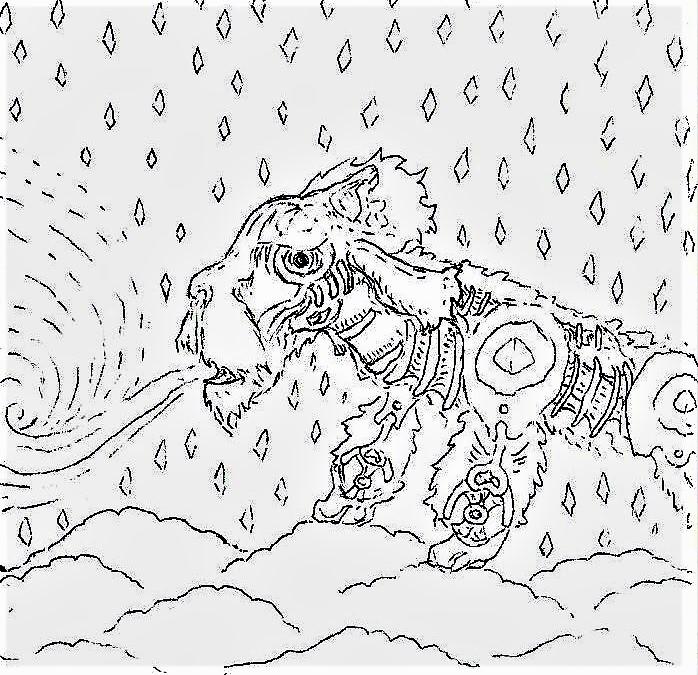 strange god 2 by zoddygor