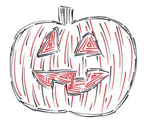 Pumpkin in Markers