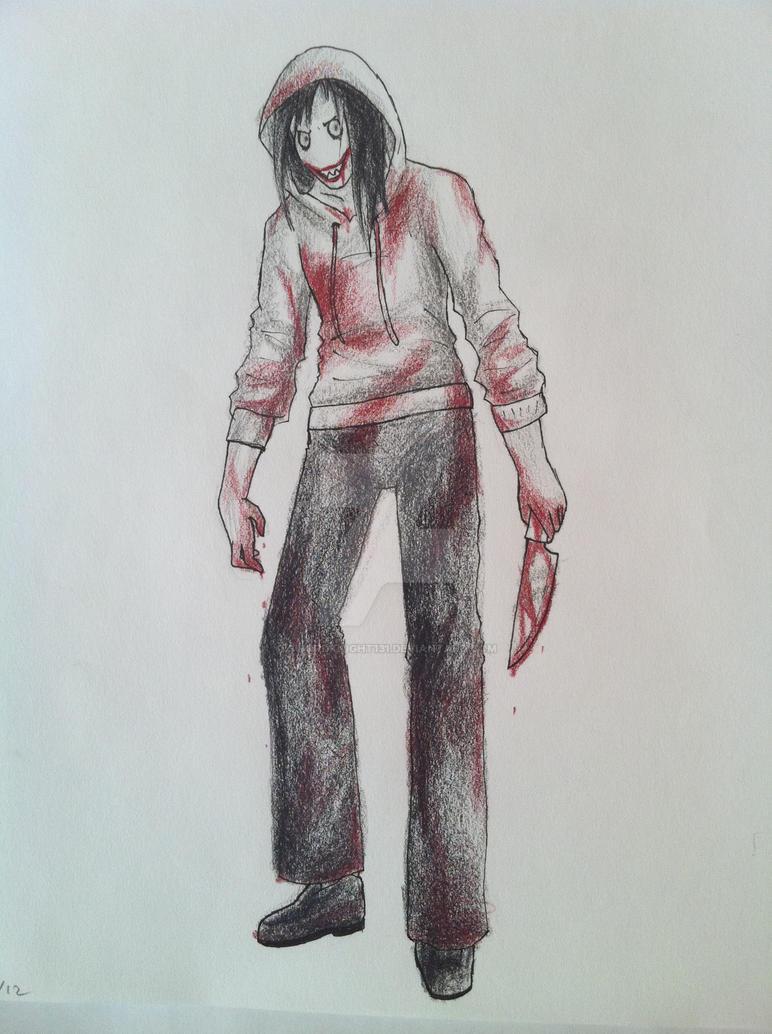 Bloody Jeff by SwordKnight131