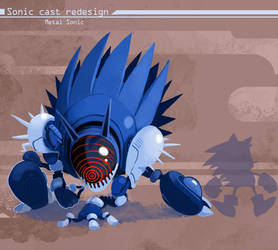 Sonic redesign- Metal Sonic
